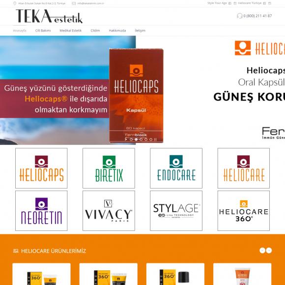 Teka Estetik Web Sitesi